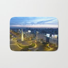 Buenos Aires Obelisco Bath Mat