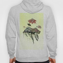 Uprooted Flowers Hoody
