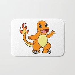 Baby Fire Character Bath Mat