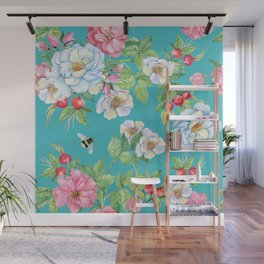 Vintage Floral Pattern No. 3 Wall Mural