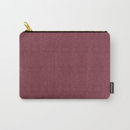 Rasberry Vertical Lace Carry-All Pouch