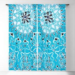 Boho Summer Sun - Abstract Geometric Pattern Blackout Curtain