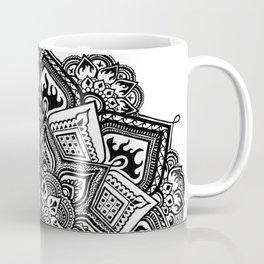 Mandala Fleur Coffee Mug