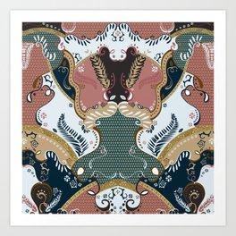 ss16 /// Handmade Arabesque I Art Print