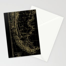 Patagonia - Black and Gold Stationery Cards