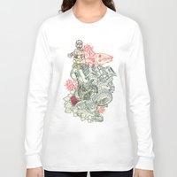 chaos Long Sleeve T-shirts featuring Chaos by Tin Salamunic
