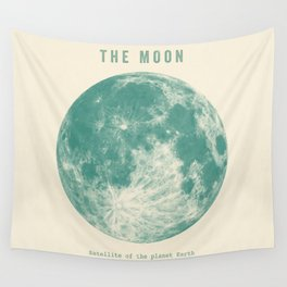 Satellite of the planet Earth  Wall Tapestry