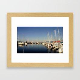 Paynesville Harbour Framed Art Print