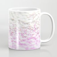 glitter Mugs featuring GLITTER by Monika Strigel