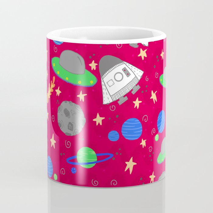 Space Ships Coffee Mug