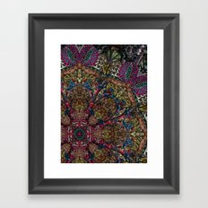 Psychedelic Botanical 9 Framed Art Print