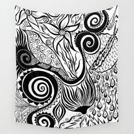 Boob Warrior I Wall Tapestry