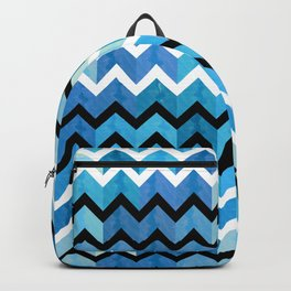 Chevron Pattern Backpack