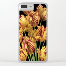 Royal Sovereign Tulips bouquet. Clear iPhone Case