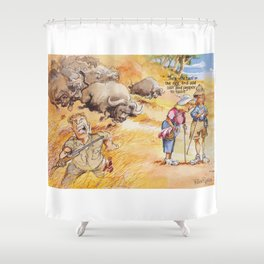 women's distractions Shower Curtain