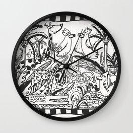 It's a jungle Wall Clock
