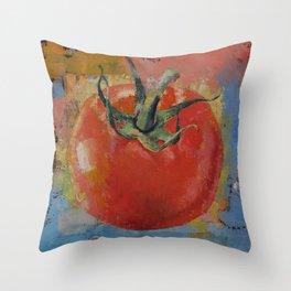 Vine Tomato Throw Pillow