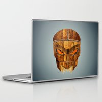 buffy Laptop & iPad Skins featuring Buffy - Dead Man's Party Mask by BovaArt