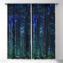 Magical Woodland Blackout Curtain