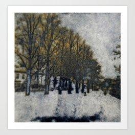 Memory Lane III Art Print