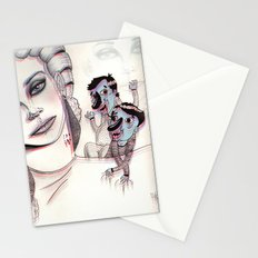 3D Nightmare Stationery Cards