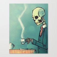Calavera´s Tea Canvas Print