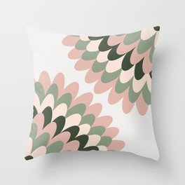 Dahlia at Office Throw Pillow