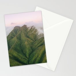 Clouds over the Koʻolau Mountains on Oahu Stationery Cards