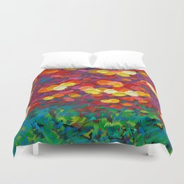 Rainbow Bubbles teardrop rain abstract painting iPhone 4 4s 5 5c 6 7, pillow case, mugs and tshirt Duvet Cover