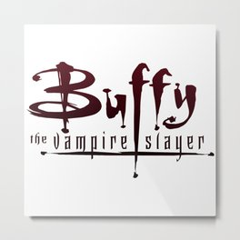 BTVS - Blood lust Metal Print