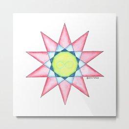 Phoenix Star Metal Print