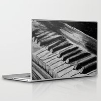 piano Laptop & iPad Skins featuring Piano by Renny Hendra