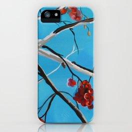 Winter Fruit iPhone Case