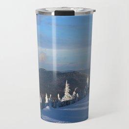 Snow pines Travel Mug