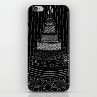 cake iPhone & iPod Skins featuring Cake by girlbhindscreen