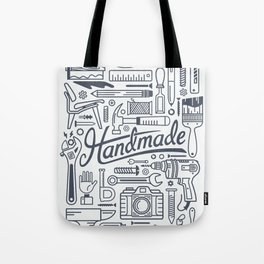 Make Handmade - White Tote Bag