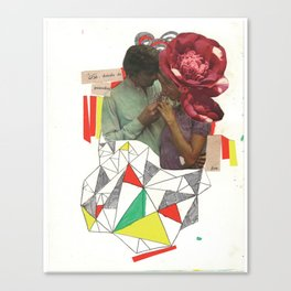 el poseedor Canvas Print