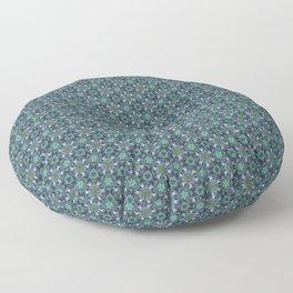 Grey Jay Spruce Tree patterned Floor Pillow