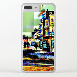 Holiday time Clear iPhone Case