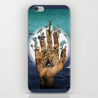 stargate iPhone & iPod Skins featuring Stargate by Sandra Dieckmann