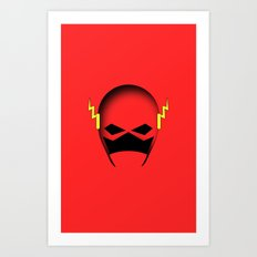 The Cowl: The Flash Art Print