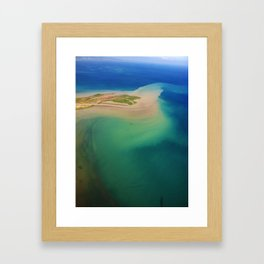 North West Haiti Framed Art Print