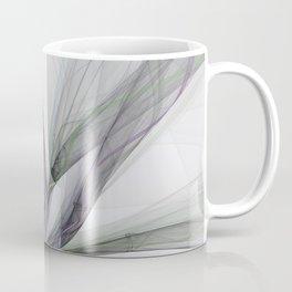 Filigree Motions, Abstract Fractal Art Coffee Mug