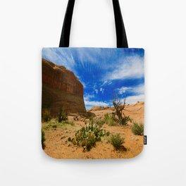 Utah Desert Landscape Tote Bag
