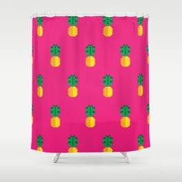 Fruit: Pineapple Shower Curtain
