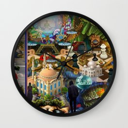 In the Chamber of the Lord Wall Clock
