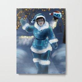 Winter Wonderland Mei Metal Print