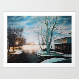 Artificial Light 2 Art Print
