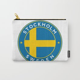 Sweden, Stockholm, circle Carry-All Pouch
