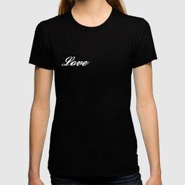 Love Beyond Words (Light Blue) T-shirt